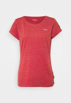 MARJORIE - T-shirt basic - winter red