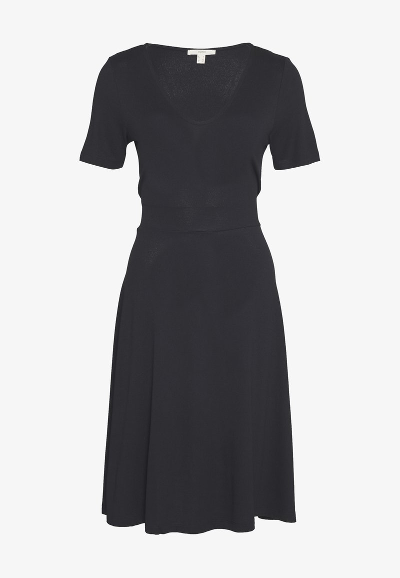 Esprit - DRESS - Jersey dress - black