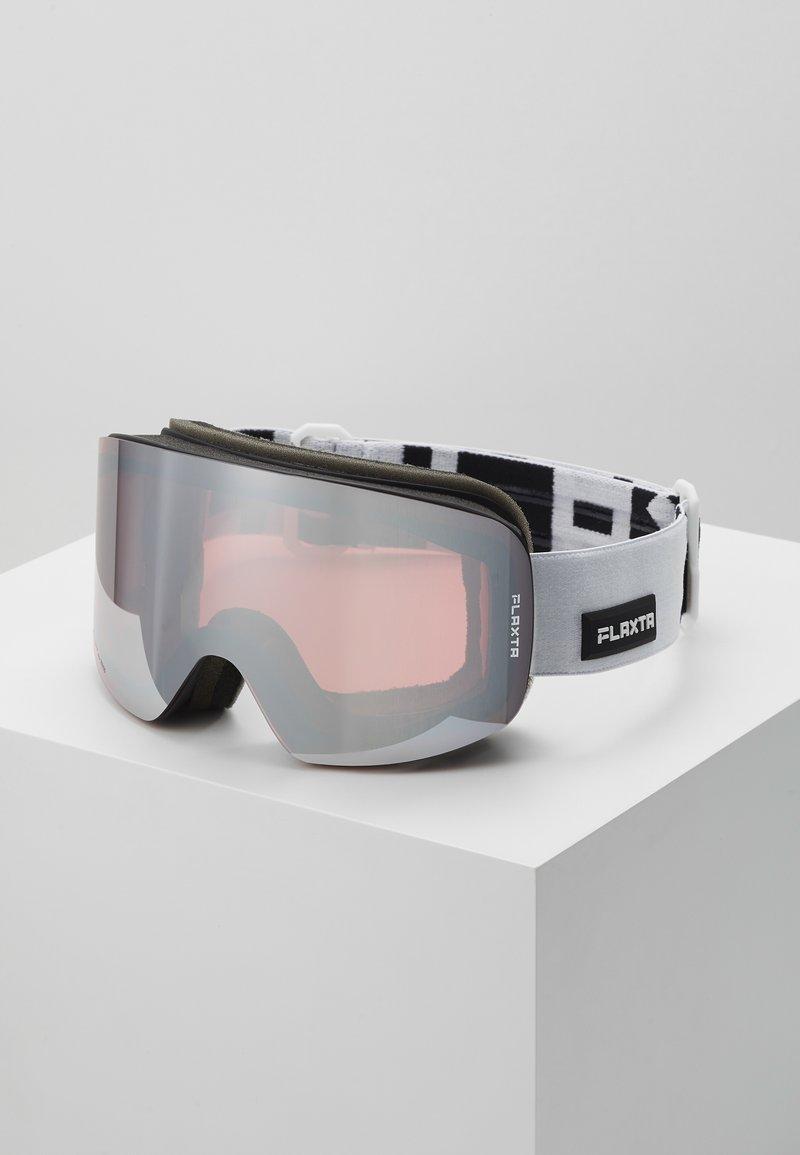 Flaxta - PRIME UNISEX - Ski goggles - white