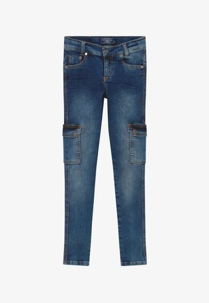 GIRLS CARGO - Jeans Skinny Fit - medium blue