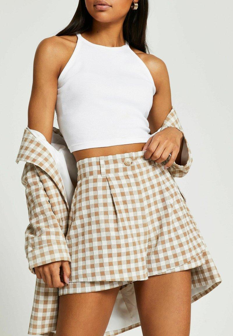 River Island - Shorts - brown