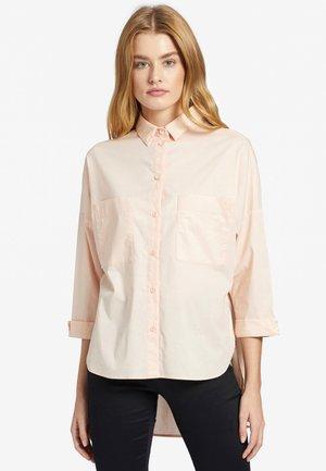 NIZKA - Button-down blouse - apricot