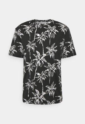 JORCOCO - T-shirt med print - black