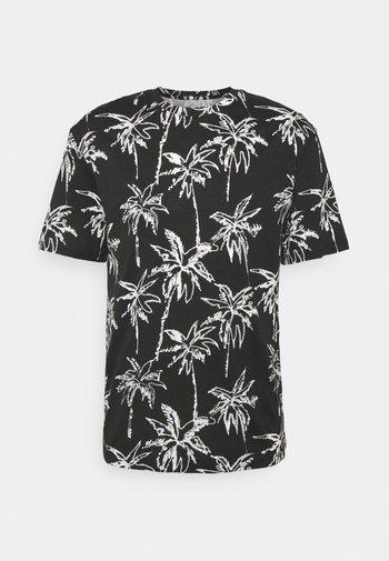JORCOCO - Print T-shirt - black