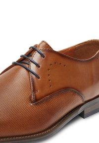 Van Lier - CARVALHO - Smart lace-ups - cognac - 5