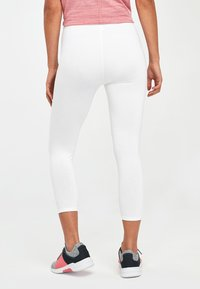 Next - WHITE CROPPED LEGGINGS - Leggings - white - 1
