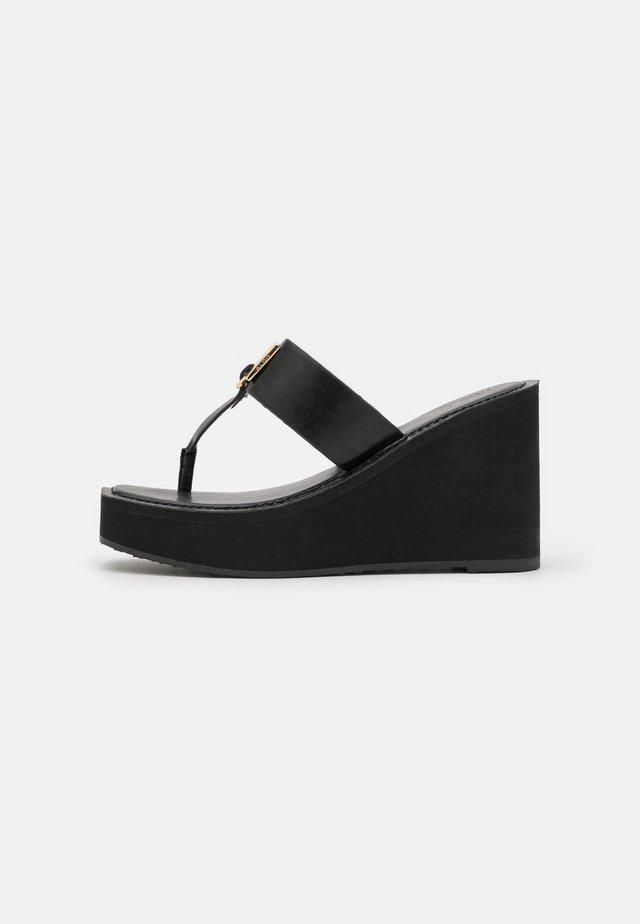ACARENIA - Tongs - black
