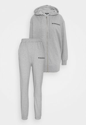 HOODIE AND JOGGER SET - Tracksuit - grey