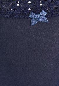 aerie - GARDEN PARTY SHINE 3 PACK - String - true black/hushed violet/deep plum - 7