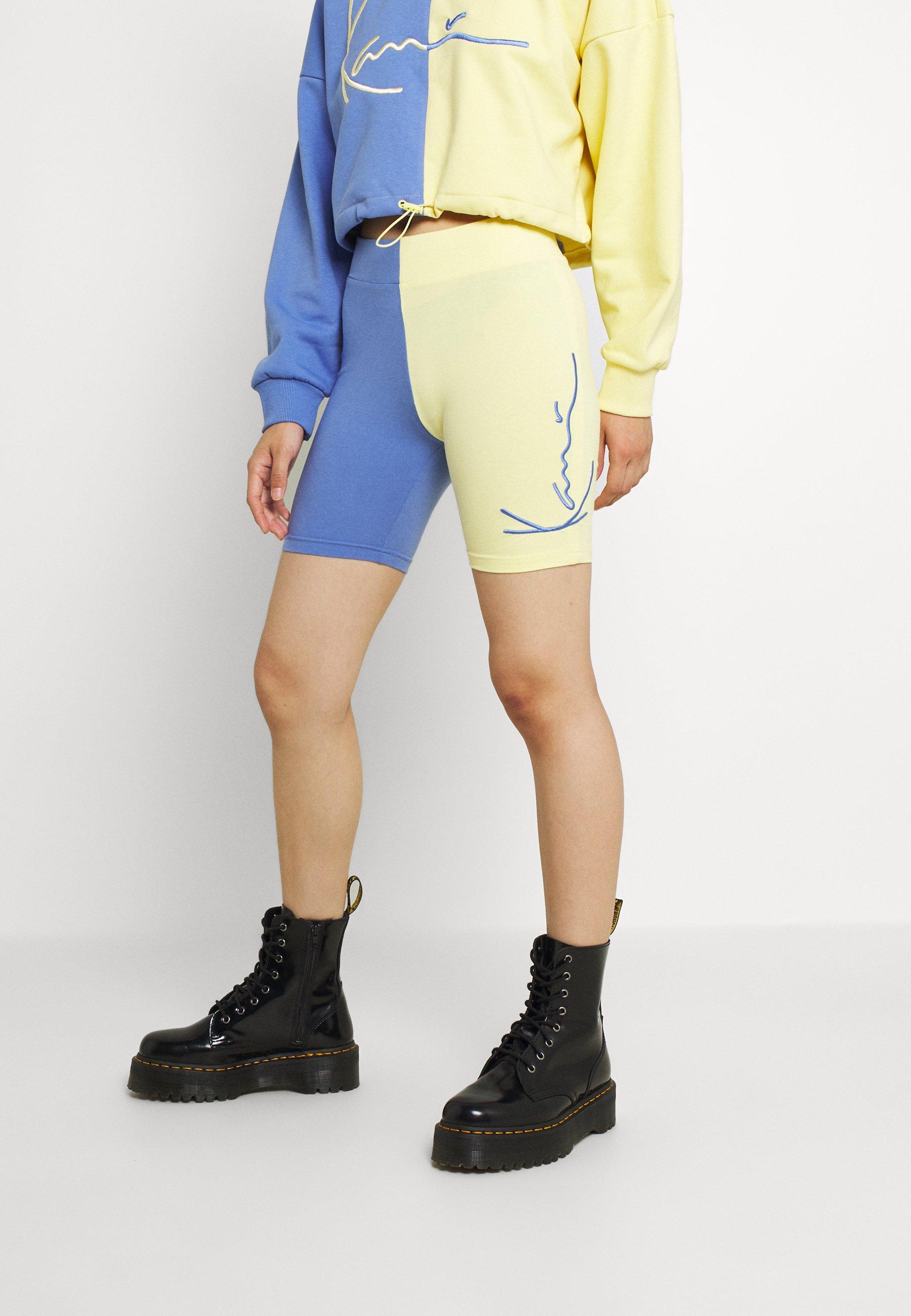 Damen SIGNATURE BLOCK CYCLING - Shorts