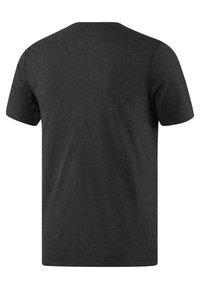 Reebok - UFC FIGHT NIGHT WALKOUT - T-shirt imprimé - black - 1