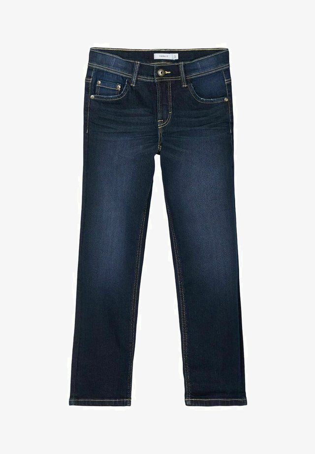 REGULAR FIT - Straight leg jeans - dark blue denim