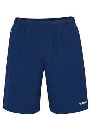 TECH MOVE - Korte sportsbukser - blue