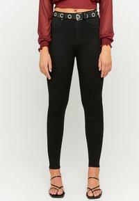 TALLY WEiJL - Jeans Skinny Fit - blk - 0