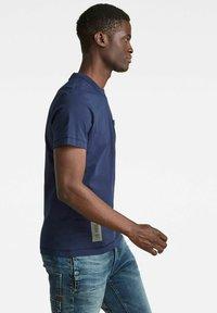 G-Star - STITCH DETAIL POCKET - T-shirt basic - warm sartho - 3