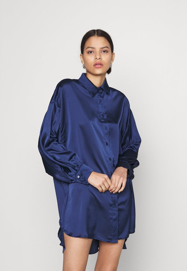SHIRT DRESS - Shirt dress - navy