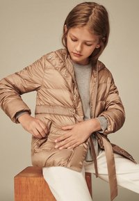 Massimo Dutti - MIT KAPUZE  - Down jacket - brown - 1