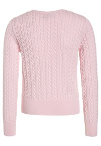 Polo Ralph Lauren - MINI CABLE - Cardigan - hint of pink - 1