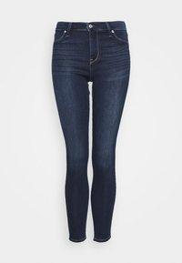 Abercrombie & Fitch - DARK CLEAN - Jeans Skinny Fit - indigo - 5