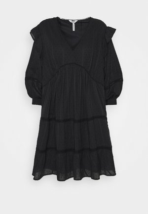 OBJROWAN SHORT DRESS  - Sukienka letnia - black