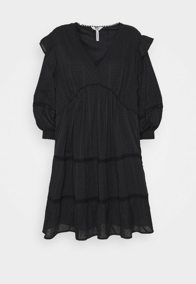 OBJROWAN SHORT DRESS  - Day dress - black