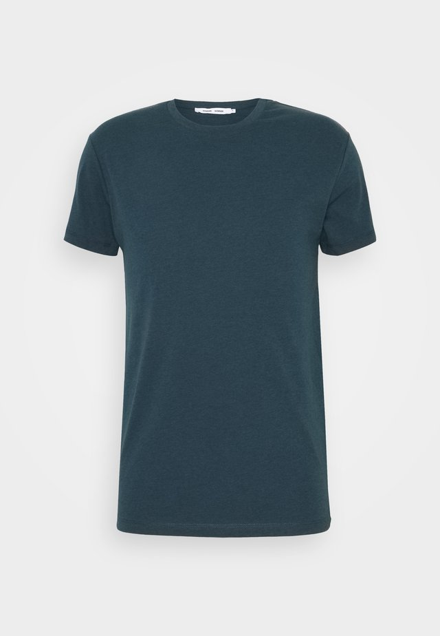 KRONOS  - Basic T-shirt - real teal melange