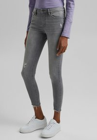 edc by Esprit - Jeans Skinny Fit - mottled grey - 0
