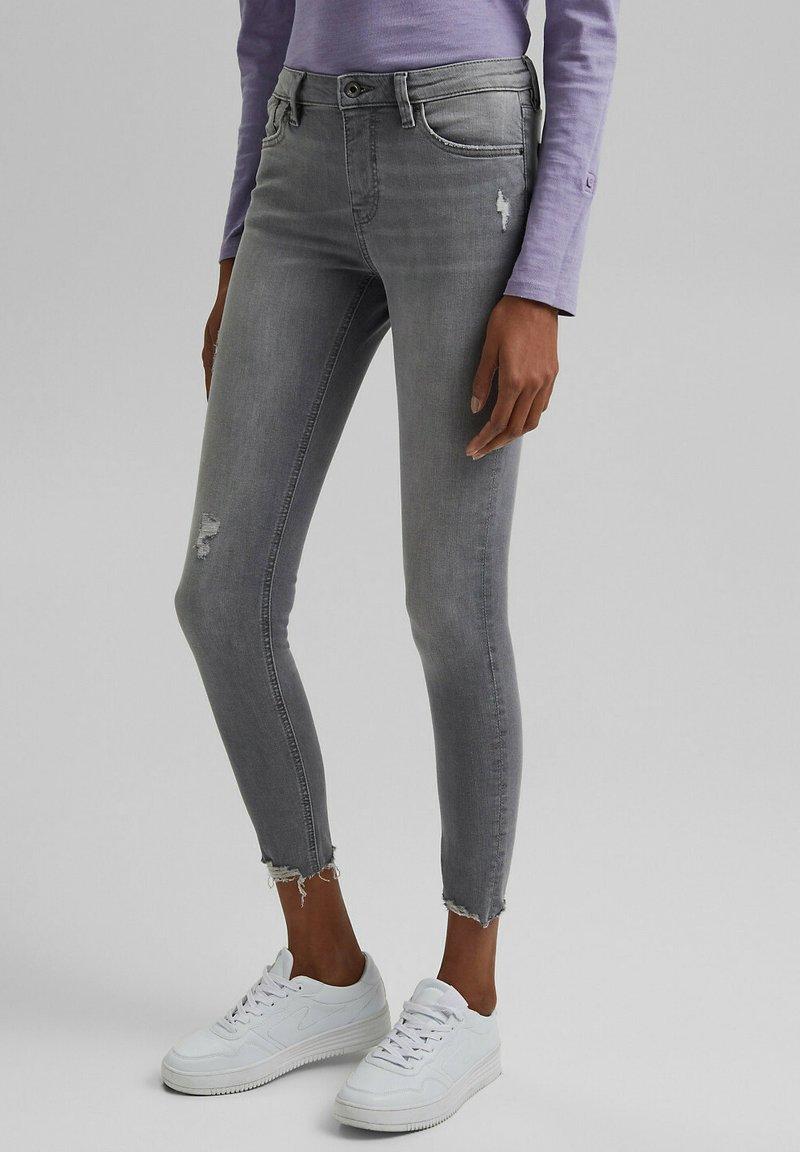 edc by Esprit - Jeans Skinny Fit - mottled grey