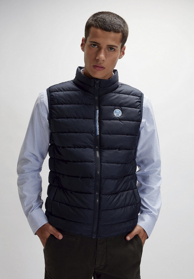SKYE  - Waistcoat - navy blue