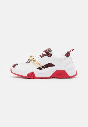Sneakers - multicolor/white/red