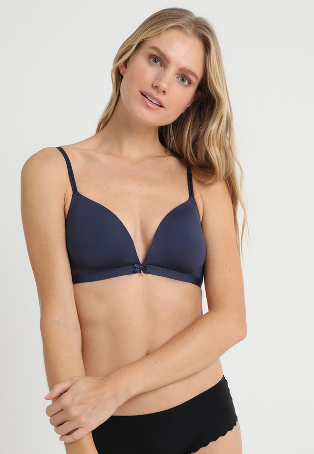 PADDED BRALETTE - Triangle bra - navy