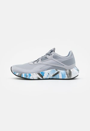 FLASHFILM 3.0 - Neutral running shoes - true grey/white/horizon blue