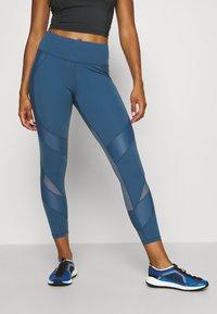 Sweaty Betty - POWER SCULPT WORKOUT LEGGINGS - Legging - stellar blue - 0
