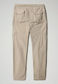 Napapijri - M-HONOLULU - Cargo trousers - natural beige - 8
