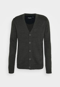 Brave Soul - WHITLAW - Kardigan - charcoal/french navy - 4
