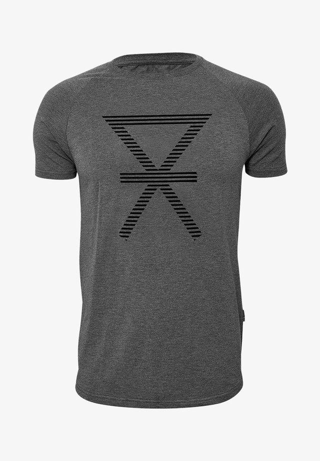 Print T-shirt - darkgrey