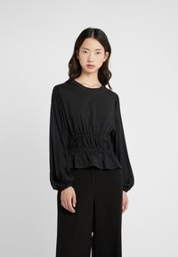 Opening Ceremony - Long sleeved top - black - 0