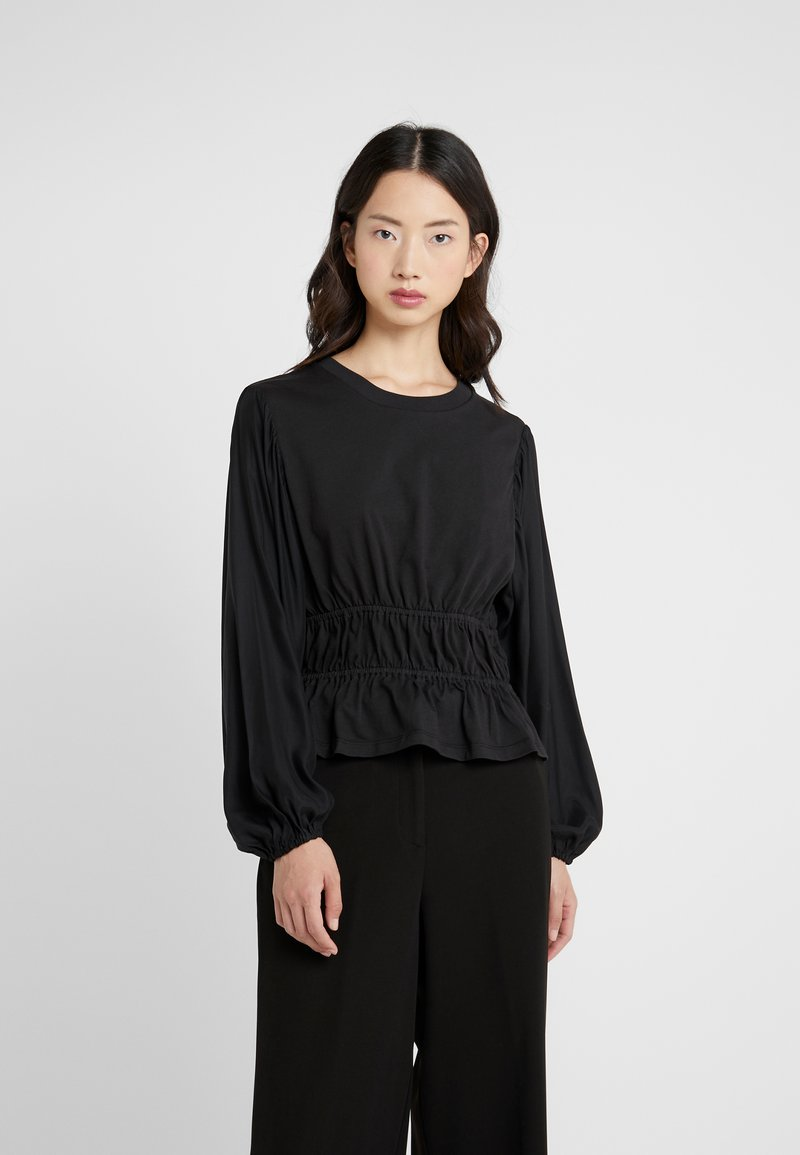 Opening Ceremony - Langærmede T-shirts - black