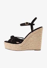 Miss Selfridge - WALLACE - Sandály na vysokém podpatku - black - 1