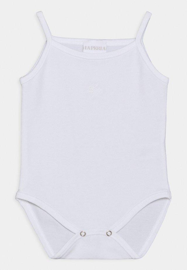 BABY THIN STRAP  - Body - bianco