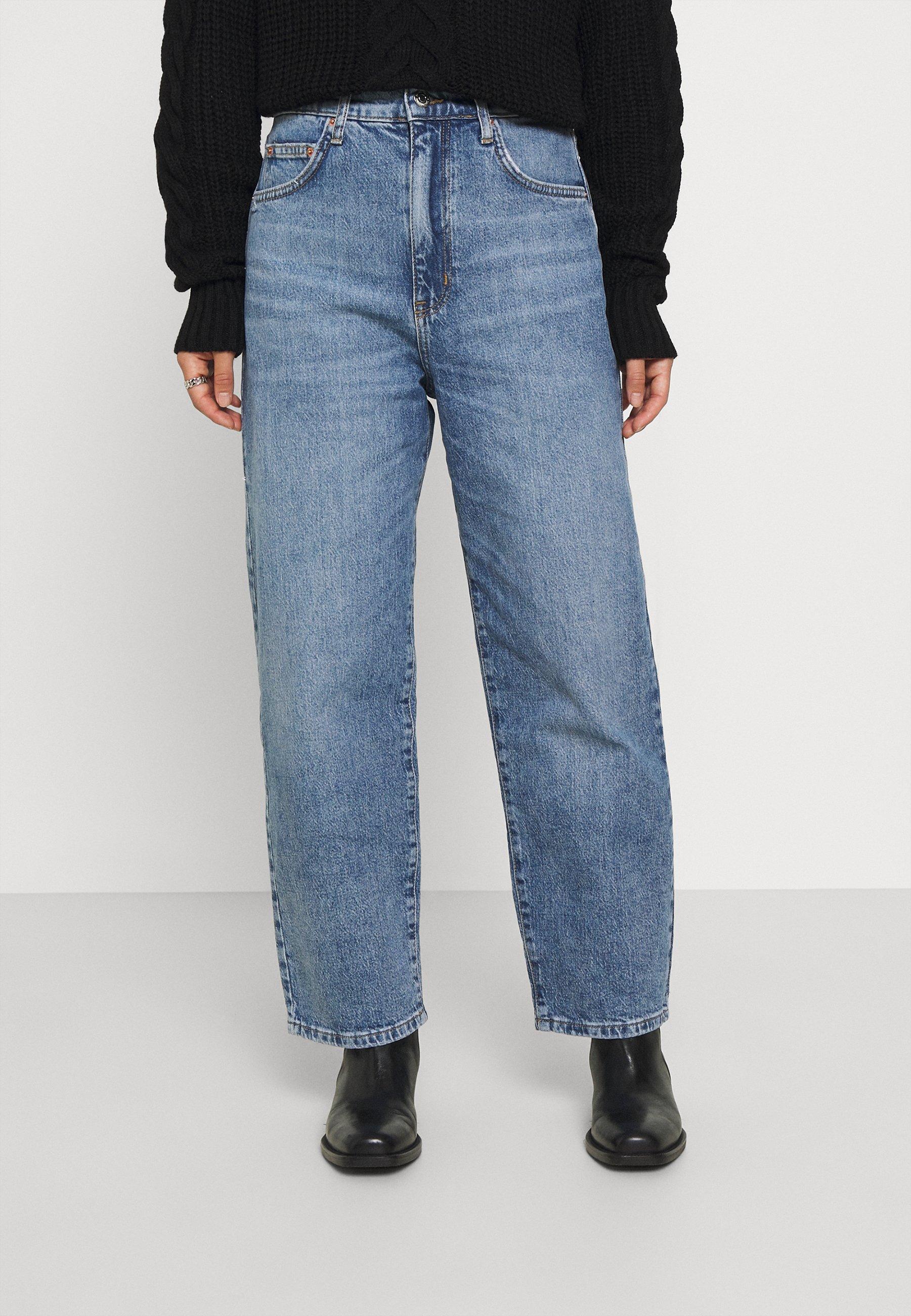 Donna COMFY - Jeans baggy - standard blue