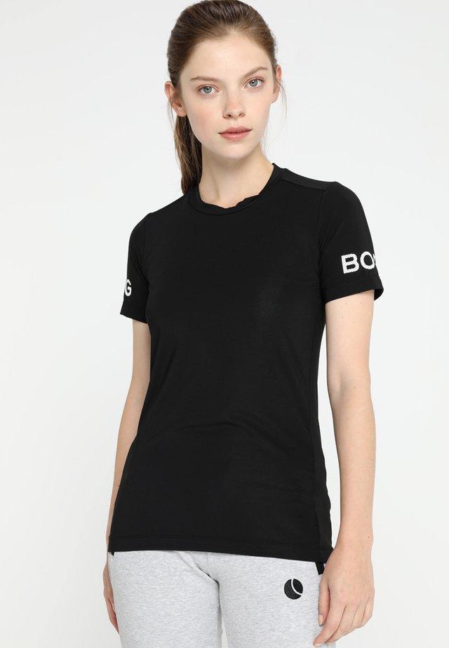 CARLA TEE - T-shirt print - black beauty