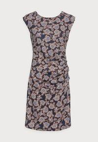 STINNA INDIA DRESS - Jersey dress - blue/brown
