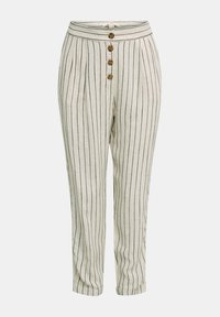 Esprit - PLEATED PANTS - Trousers - sand - 8