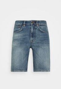 NN07 - JOHNNY SHORTS  - Denim shorts - blue denim - 3
