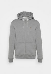 Abercrombie & Fitch - Zip-up hoodie - flat grey - 0