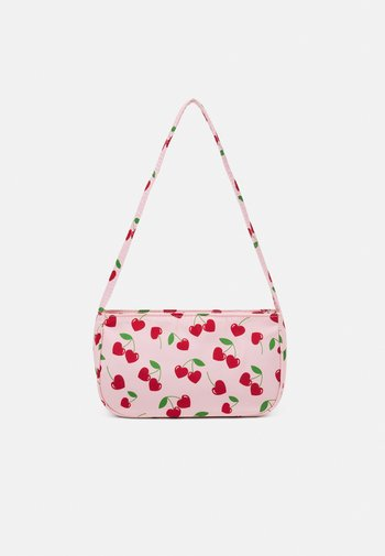 SHOULDER BAG - Håndveske - candy pink/red