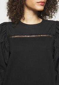 KARL LAGERFELD - MIX DRESS - Day dress - black - 4