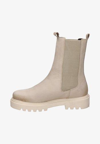 Korte laarzen - wit