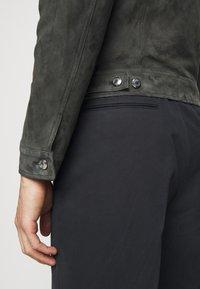 Paul Smith - GENTS - Kožená bunda - dark grey - 5